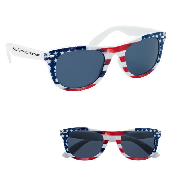 933584402ac2 Patriotic Malibu Sunglasses Patriotic ...