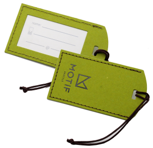 Recycled Luggage Tag