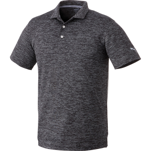 Men's PUMA Heather Polo