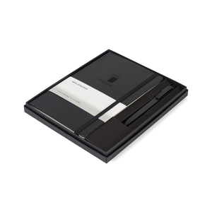 Moleskine® Large Notebook and GO Pen Gift Set