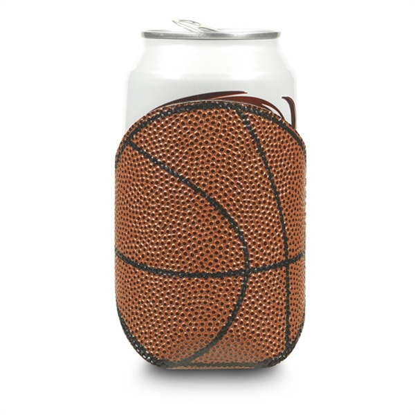 Basketball Can Cooler | Walker-Clay, Inc  - Promotional products in