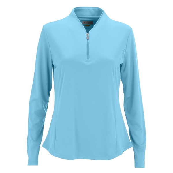 Women's Greg Norman Play Dry® Tulip Neck 1/4-Zip