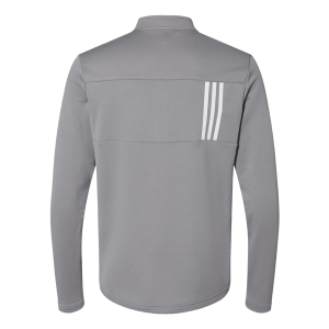 Adidas 3-Stripes Double Knit Quarter-Zip Pullover